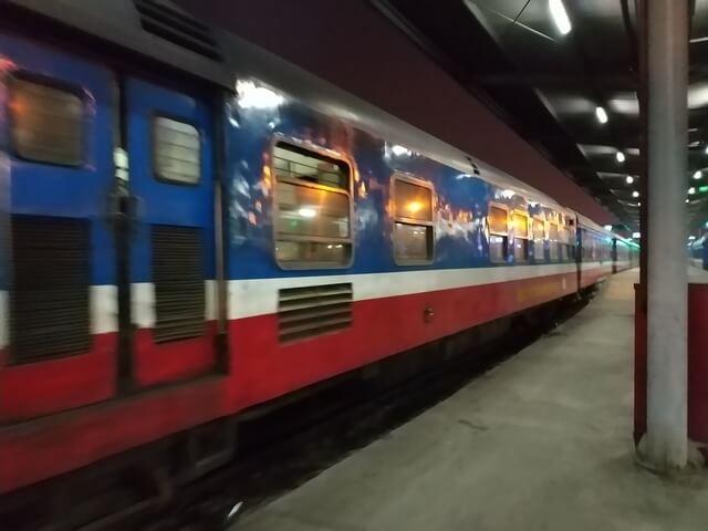 Tren nocturno a Sapa, Vietnam