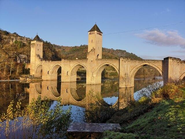 Cahors Puente Valentre