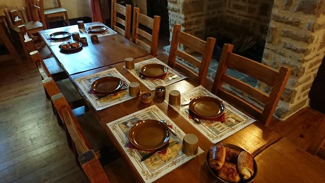 Desayuno en hotel Cordes