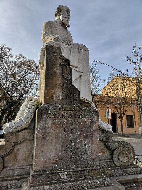 Estatua Eusebi Guell