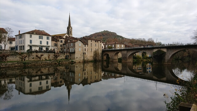 Saint Antonin Noble val vista