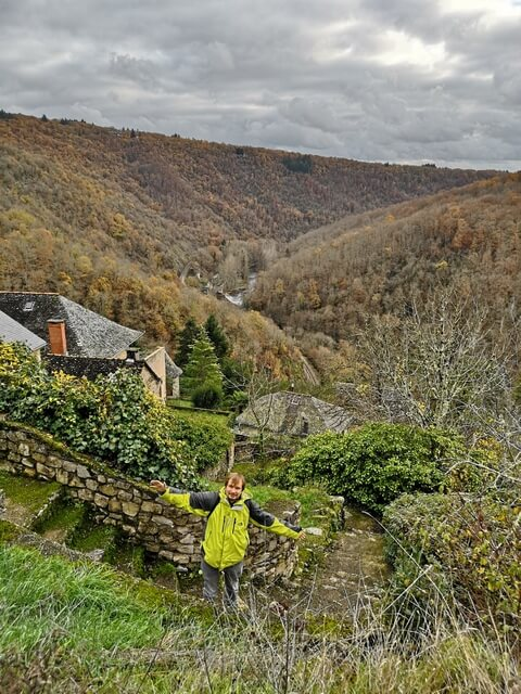 Vistas del valle Aveyron