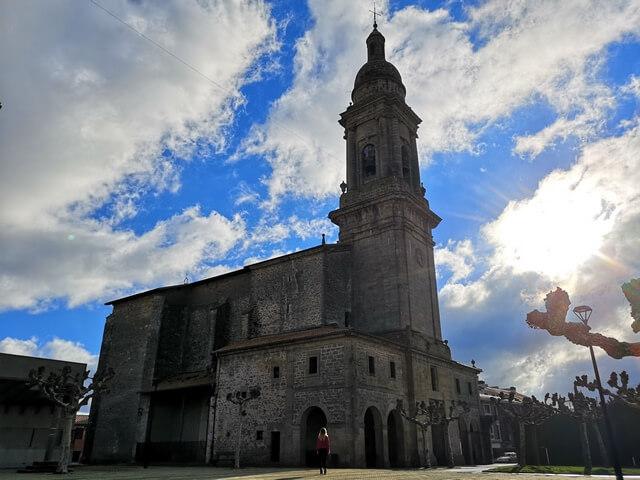 Iglesia de San Blas, Alegria Dulantzi