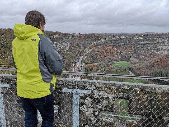 Vistas desde la muralla del Castillo