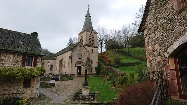 Iglesia de Belcastel