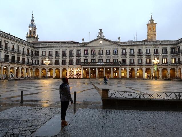 Plaza de España Vitoria Gasteiz