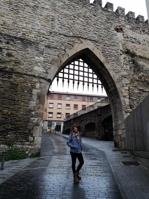 Puerta muralla Vitoria