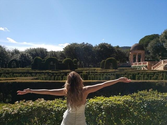 Que hacer en Barcelona Laberint d'horta