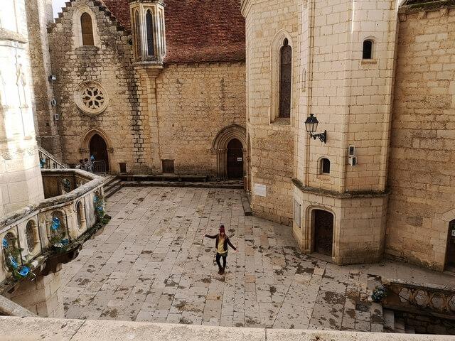 Santuario de Rocamadour, plaza central