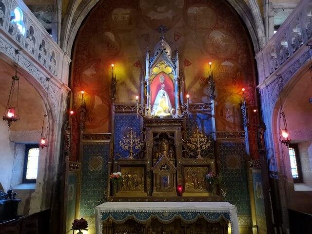 Santuario de Rocamadour, virgen negra