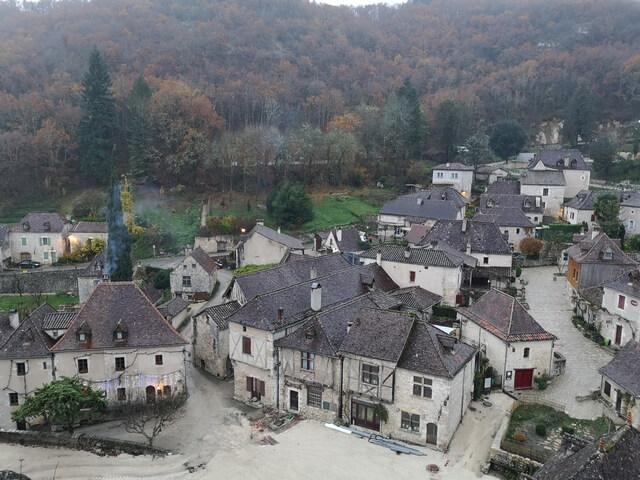 Vistas pueblo Saint Cirq Lapopie