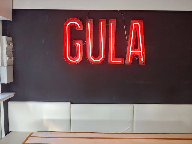 Can Gula Mercantic, cartel