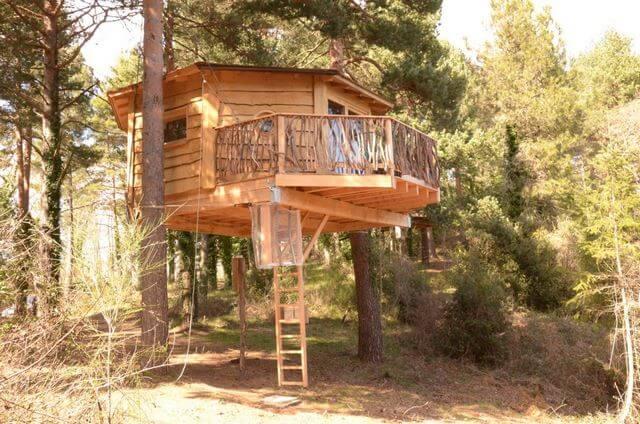 Hotel Les Cabanes dels arbres