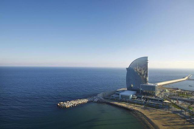 Hotel W Barcelona encanto