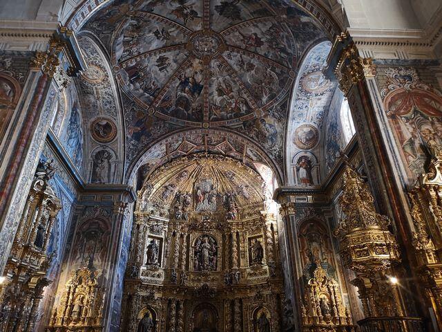 Interior Iglesia Nuestra Señora Asunción Labastida
