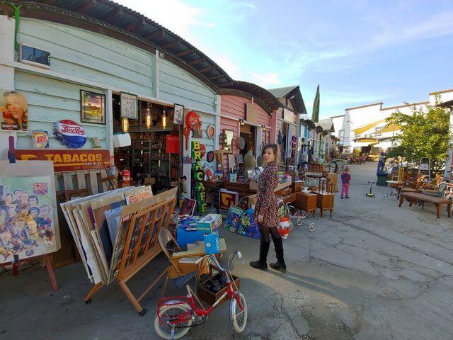 Mercantic Sant Cugat, casas de colores