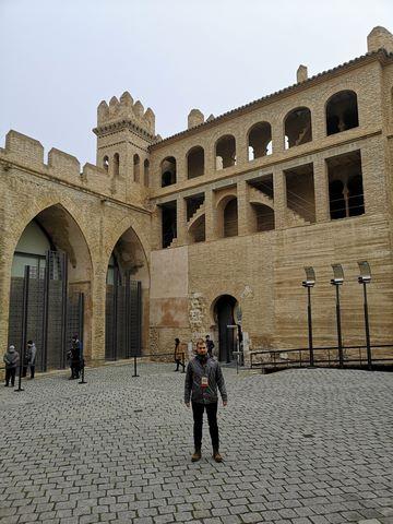 Entrada Aljafería Zaragoz