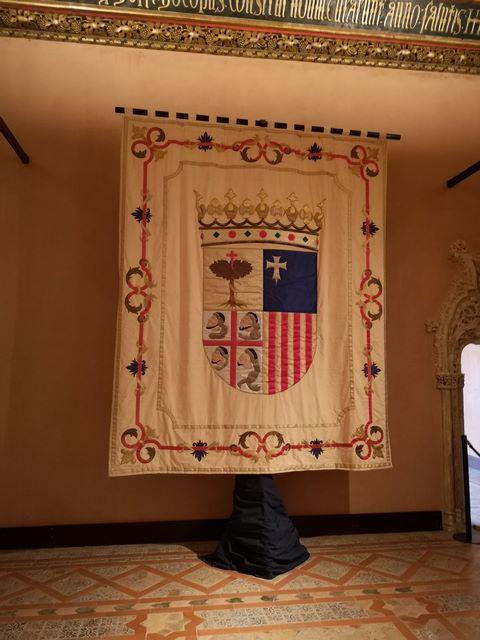 Salón del trono Palacio Aljafería