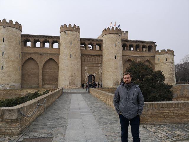 Exterior Palacio Aljafería