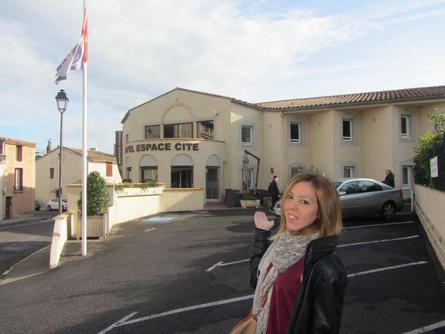 Espace Cite, nuestro hotel en Carcassonne