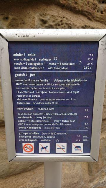 Precios entrada Castillo Carcassonne