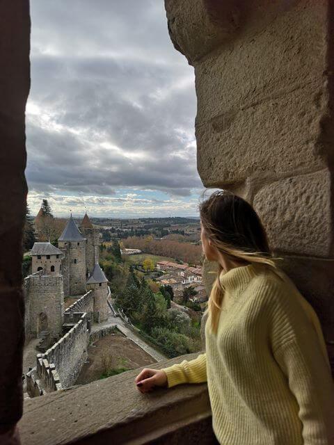 Vistas desde el Castillo de Carcassonne