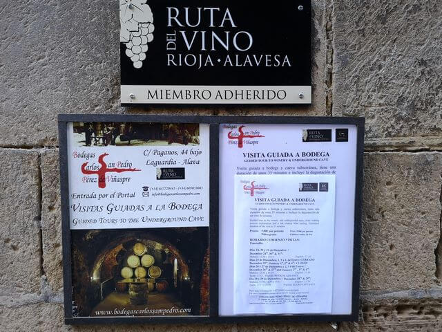 Ruta del Vino Rioja Alavesa