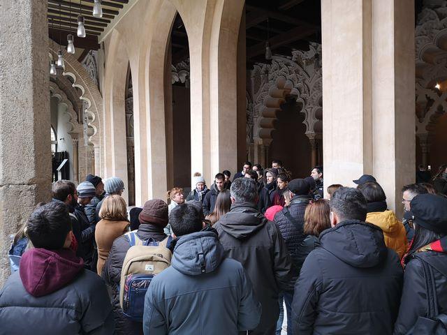 Visita Guiada Aljafería Zaragoza