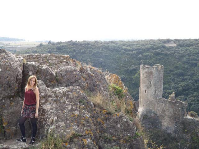 Castillos cataros de Lastours