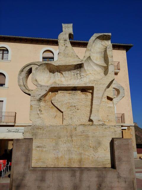 Escultura ecuestre borrell II