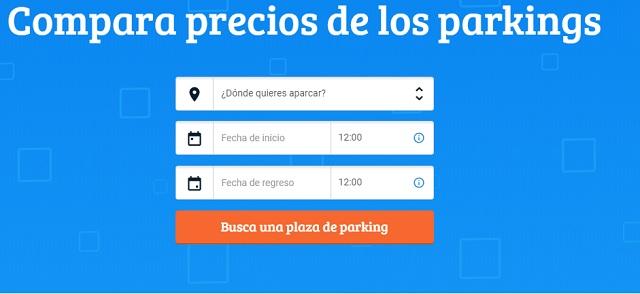 Parkos, comparador precios parking aeropuertos