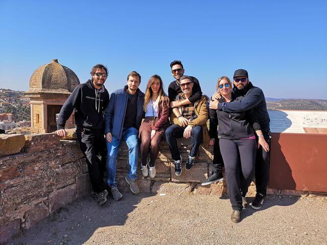 Visita a Cardona con amigos