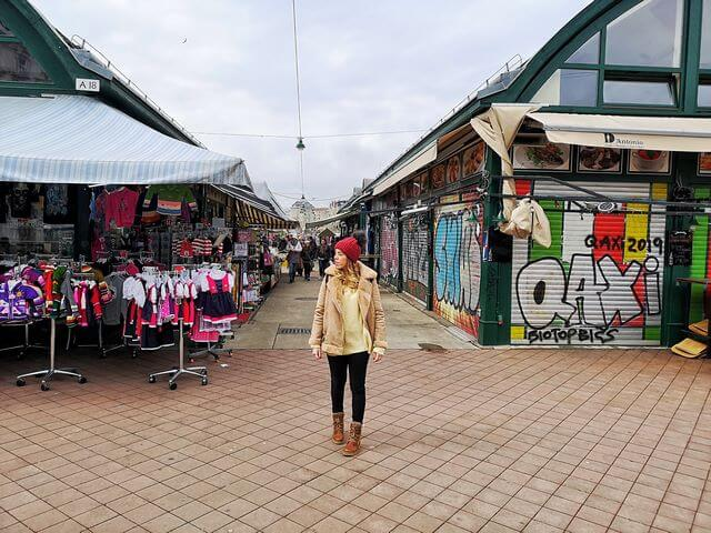 Viena 5 días, Naschmarkt