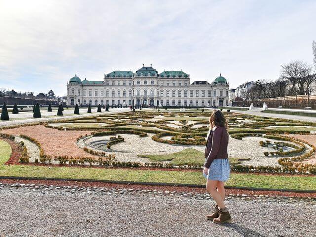 Viaje a Viena, Palacio Belvedere