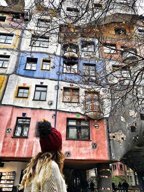 que ver en Viena, hundertwasserhaus