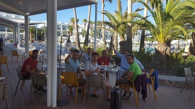 De fiesta en Ibiza despedida