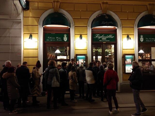 Figlmuller, los schnitzel más famosos de Viena