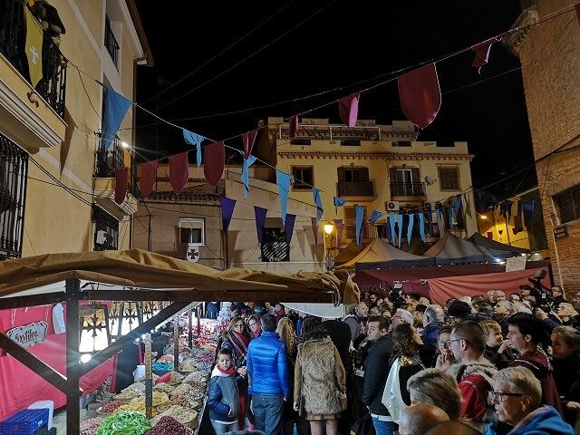 Mercado medieval de Villena