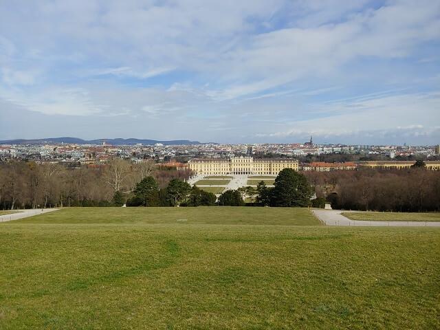 Palacio Schönbrunn vistas