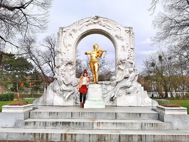 Stadtpark Viena Johan-Straus