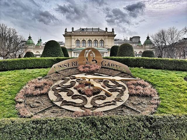 Unsere Garten Stadtpark Viena que ver
