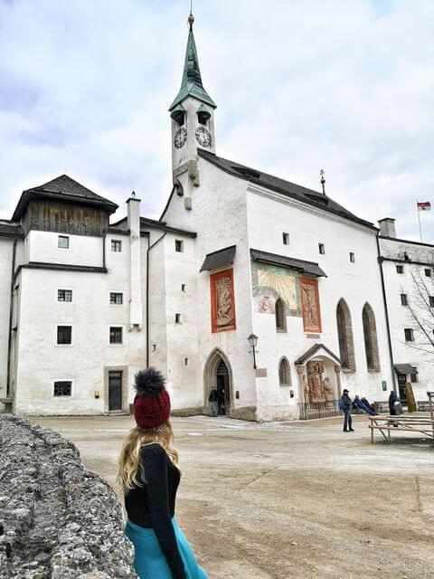 Capilla de San Jorge en el Patio Interior de la Fortaleza