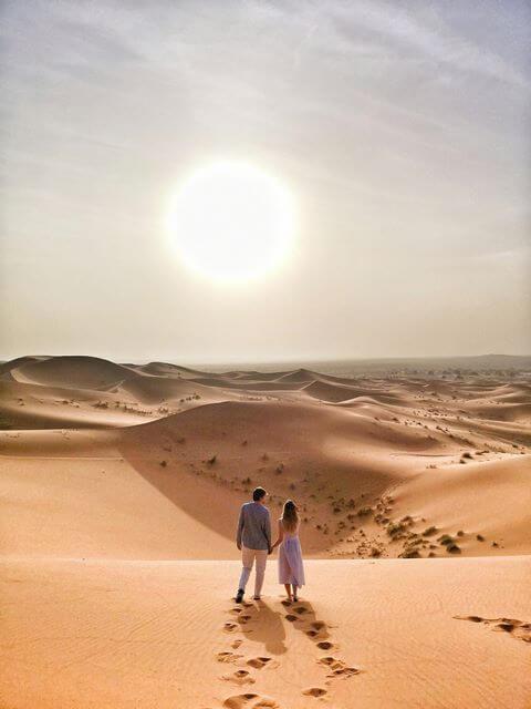 Desierto de Merzouga, imprescindible de Marruecos