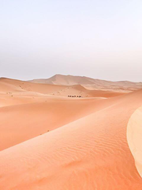 Desierto de Merzouga Marruecos