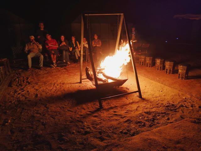 Campamento desierto Merzouga