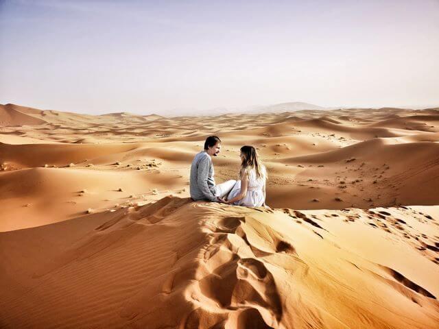 Desierto amanecer