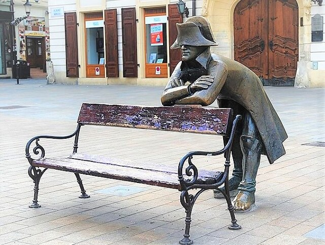 Estatua Soldado de Napoleon Bratislava