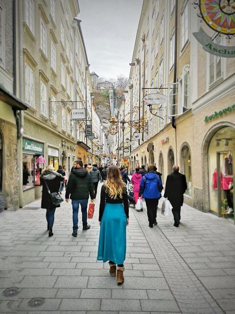 Getreidegasse Que ver en Salzburgo