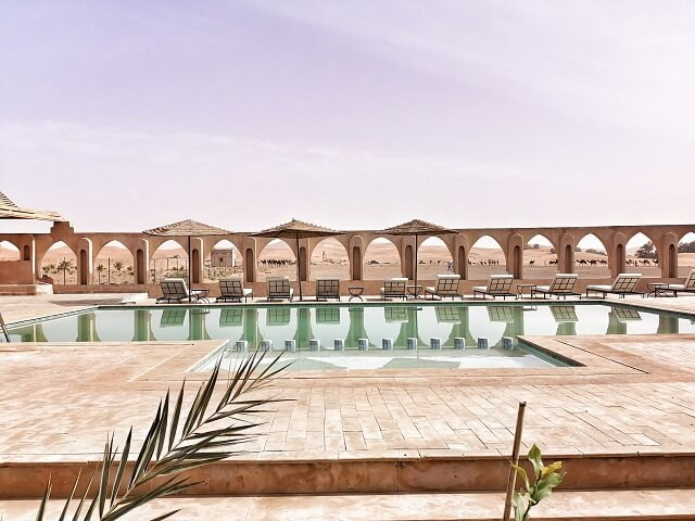 Campo base Nomad Palace