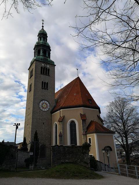 Iglesia de Maria Himmelfahrt Salzburgo que ver